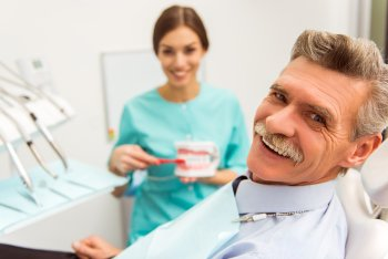Implant-supported dentures in San Diego, CA